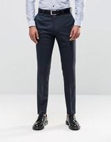 Reiss Pants With Fleck In Modern Slim Fit