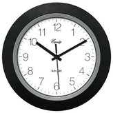 Equity 40222B Insta-Set 10-Inch Analog Wall Clock