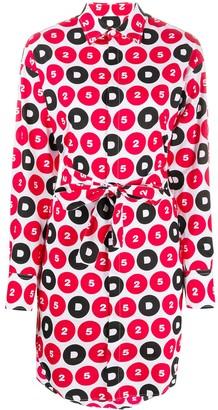 DSQUARED2 Logo Motif Shirt Dress