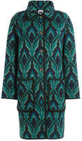 M Missoni Wool Coat with Metallic Thread