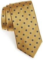 Ermenegildo Zegna Men's Floral Medallion Silk Tie
