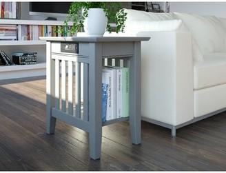 Grove Lane Katalina End Table Grovelane Color: Gray