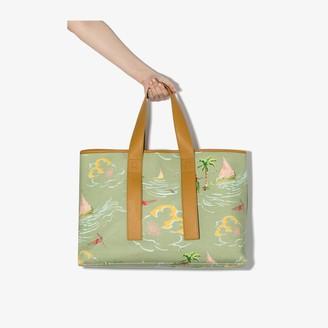 REJINA PYO multicoloured Carter hawaiian print canvas tote bag