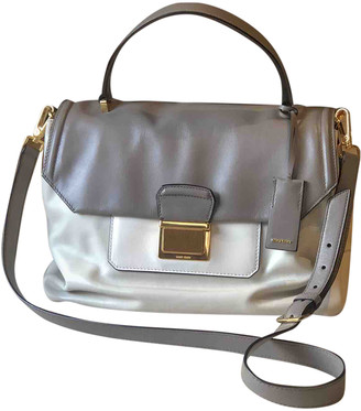 Miu Miu MatelassA White Leather Handbags