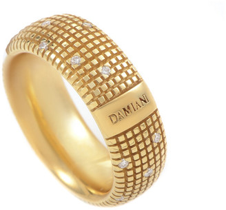 Damiani 18K 0.14 Ct. Tw. Diamond Ring