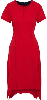 Donna Karan Asymmetric Crepe Dress
