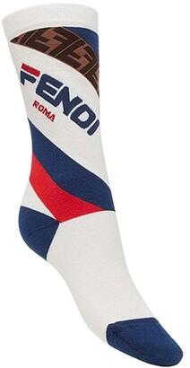 Fendi FendiMania logo socks