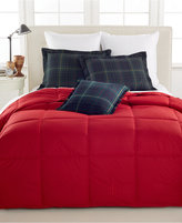 Lauren Ralph Lauren Color Down Alternative Full/Queen Comforter, 100% Cotton Cover