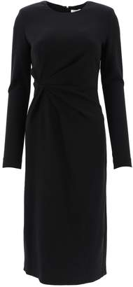 P.A.R.O.S.H. Gathered Midi Dress