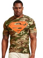 Under Armour Men's Alter Ego Short Sleeve Compression Shirt Large Vegas Gold