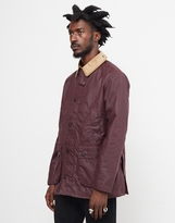 Barbour Bedale Wax Jacket Red