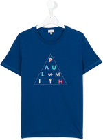 Paul Smith logo print T-shirt - kids - Cotton - 16 yrs