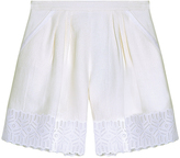 Andrew Gn Lace Shorts