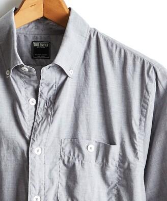 Todd Snyder Lightweight Button Down Shirt in Grey