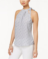 Maison Jules Printed Halter Shell, Only at Macy's