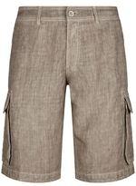 120% Lino Linen Cargo Shorts