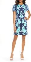 Lilly Pulitzer R) Floral Sheath Dress