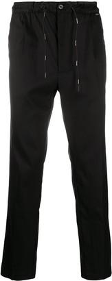 Calvin Klein High-Waisted Straight Leg Trousers