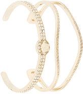 Versace set of 2 Greek bracelets
