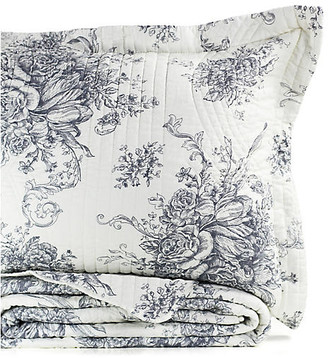 One Kings Lane Toile Quilt Set - Gray - Twin