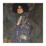 Gustav 1art1 Posters Klimt Poster Art Print - Emile Floge (20 x 16 inches)