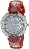 Adee Kaye Women's AK2424-OR SWEET HEART COLLECTION Analog Display Analog Quartz Red Watch