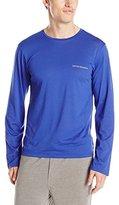 Emporio Armani Men's Pima Non Stretch Cotton Lounge Shirt