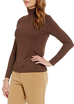 Investments Essentials Turtleneck Solid Knit Top