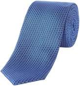 Kenneth Cole Worth Textured Plain Silk Tie