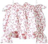 Dresscamp strawberry print off-shoulder blouse