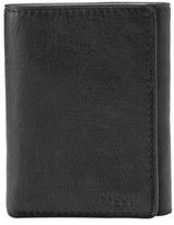 Fossil Men's 'Ingram' Leather Trifold Wallet - Black