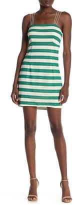 Show Me Your Mumu Clarissa Sleeveless Stripe Print Dress