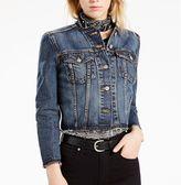 Levi's Women's Raw-Edge Denim Jacket