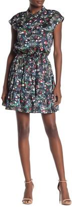 Rebecca Minkoff Ollie Floral Satin Dress