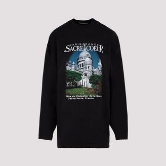 Balenciaga Sacre Coeur Long-Sleeve T-Shirt