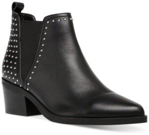 Dv Dolce Vita Zendra Studded Chelsea Booties Women's Shoes