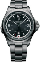 Victorinox Men's Night Vision Black Ice PVD-Finished Stainless Steel Bracelet Watch 42mm 241665 - First at Macy's!