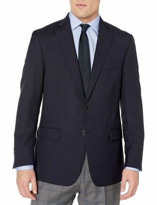 Hart Schaffner Marx Men's 2 Button Ny Fit Side Vent Blazer
