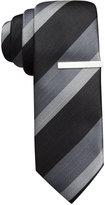 Alfani North Stripe Skinny Tie, Only at Macy's