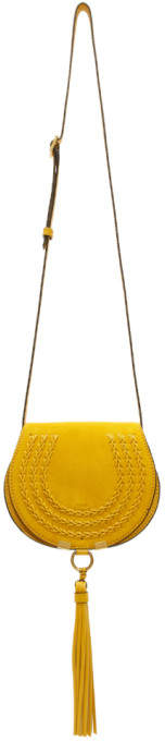Chloé Yellow Small Marcie Mini Bag