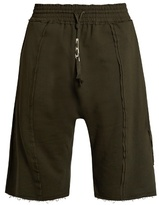 Damir Doma Parini Extended-seam Cotton Shorts