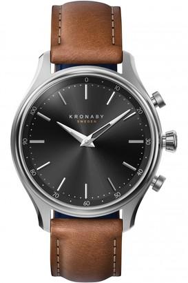 Unisex Kronaby SEKEL Alarm Watch A1000-2749