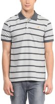 American Crew Men's Premium Pique Stripes Polo T-Shirt- XXL (AC270-XXL)