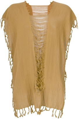 Caravana convertible fringed and distressed top