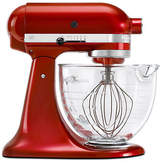 KitchenAid Architect Series Stand Mixer With Glass Bowl Candy Apple Red