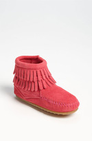 Minnetonka Toddler Girl's 'Double Fringe' Boot