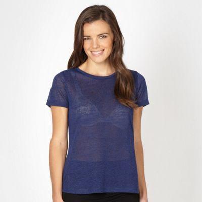 Red Herring Blue embossed t-shirt