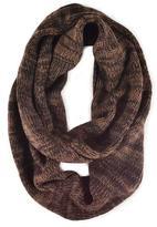 Muk Luks Men's Marled Knit Infinity Scarf