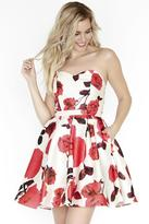 Jolene Collection - 17546 Floral Sweetheart A-line Dress