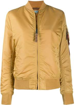 Alpha Industries slim fit bomber jacket